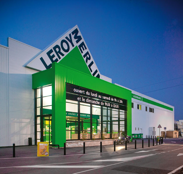 Magasin leroy merlin verquin moretti constructions - Magasin leroy merlin en france ...